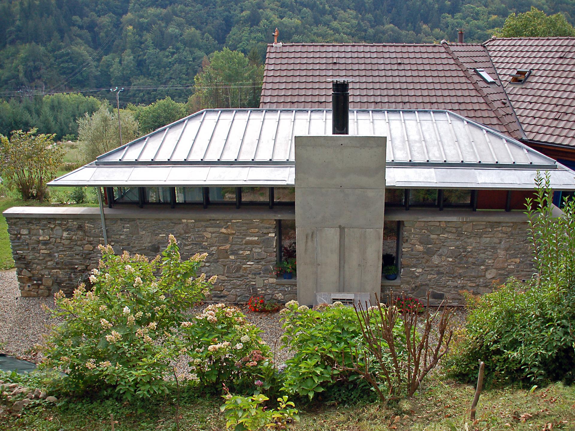 Extension D Une Maison D Habitation Allevard Les Bains Abis Architectes